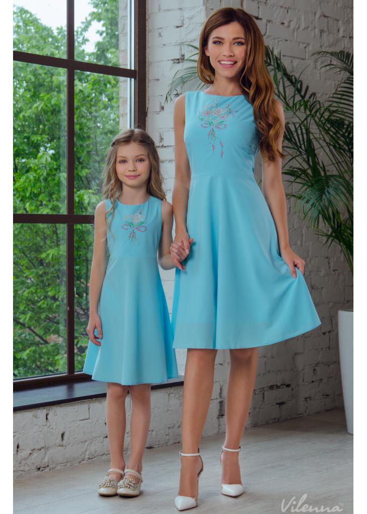 Dress for girl D-1024-172 • buy online • vilenna • image 2