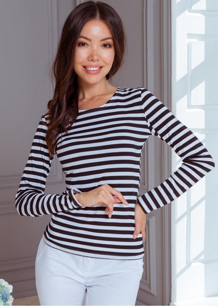 Яскрава смугаста блуза
