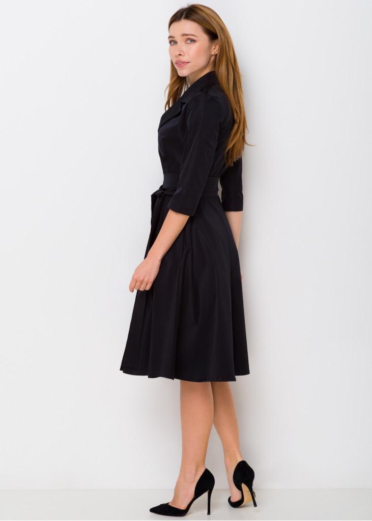Стильное платье на-запах с поясом