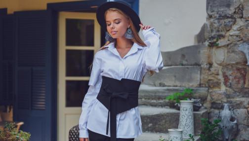 Белая блуза - залог твоего стиля!
